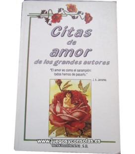 CITAS DE AMOR DE LOS GRANDES AUTORES - A. LAURENT - EDICOMUNICACION