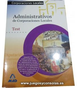 ADMINISTRATIVOS DE CORPORACIONES LOCALES - TEST - MAD