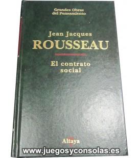 EL CONTRATO SOCIAL - JEAN JACQUES ROUSSEAU - GRANDES OBRAS DEL PENSAMIENTO - ALTAYA