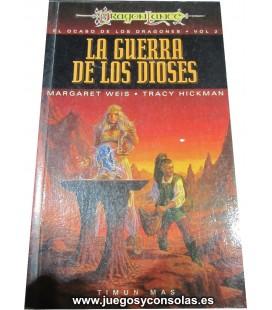 LA GUERRA DE LOS DIOSES - EL OCASO DE LOS DRAGONES VOL.2 - MARGARET WEIS - TRACY HICKMAN - TIMUN MAS