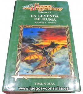 LA LEYENDA DE HUMA - HEROES DE LA DRAGONLANCE VOL. 1 - RICHARD A. KNAAK - TIMUN MAS
