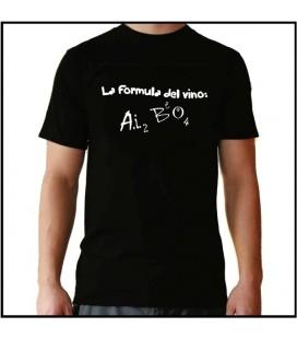 La formula del vino camiseta