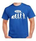 Evolucion Dejad de seguirme camiseta color