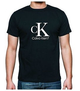 CK Calvo Kien camiseta graciosa