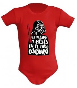 SW Vader he pasado 9 meses en el lado oscuro body bebe