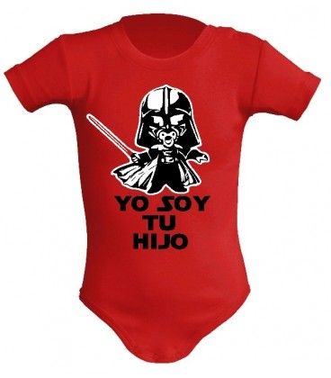 Star Wars yo soy tu hijo body bebe