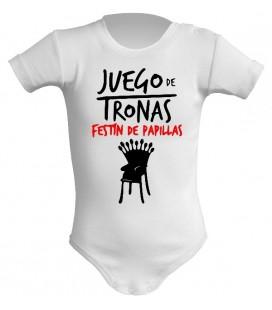 Juego de Tronas Festin de Papillas body bebe
