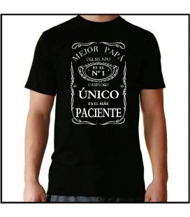 Mejor Papa del mundo - Jack Daniels camiseta dia del padre papa