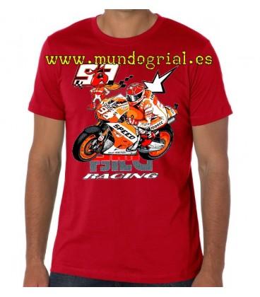 Marc Marquez Racing camiseta roja