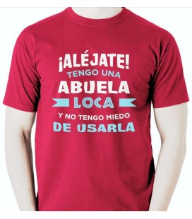 Camiseta Abuela Loca