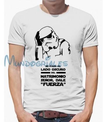 8806b6f88 Camiseta Despedida de Soltero Star Wars - Mundo Grial