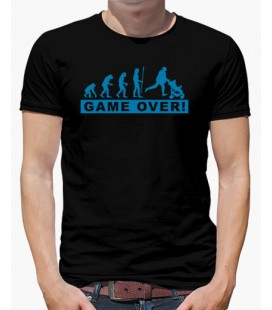 Camiseta Dia del padre Game over