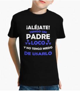 Camiseta Padre loco