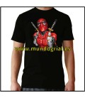 Deadpool camiseta negra