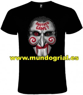 SAW PUPPET CAMISETA NEGRA
