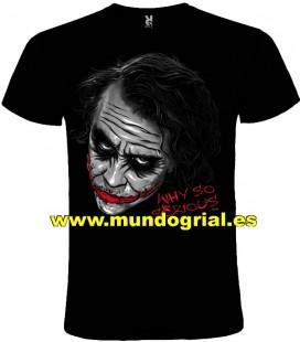 Joker Batman camiseta negra