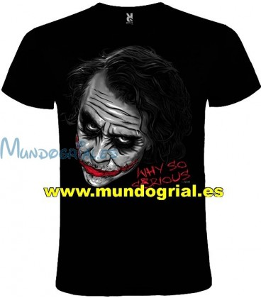 Joker Batman camiseta negra