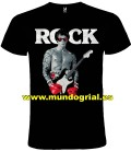 ROCKY ROCK CAMISETA NEGRA