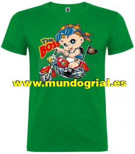 THE BOSS BABY CAMISETA VERDE