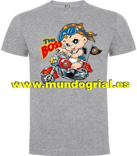 THE BOSS BABY CAMISETA GRIS