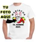 Recio Mariscos pon tu cara y nombre camiseta personalizada